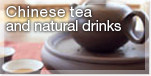 Chinese tea and natural drinks